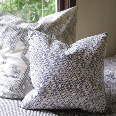 Erica Tanov small diamond throw pillow