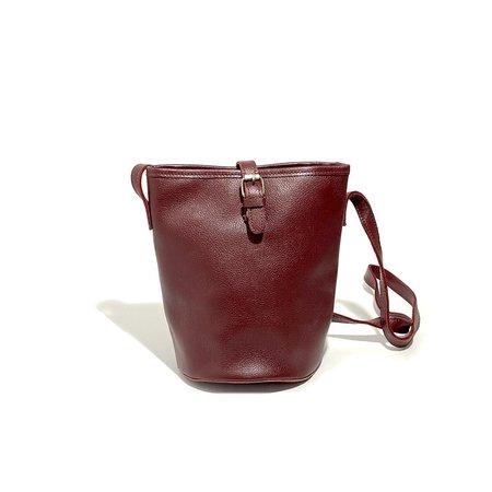 Uppdoo Cheer Bucket Bag - Oxblood