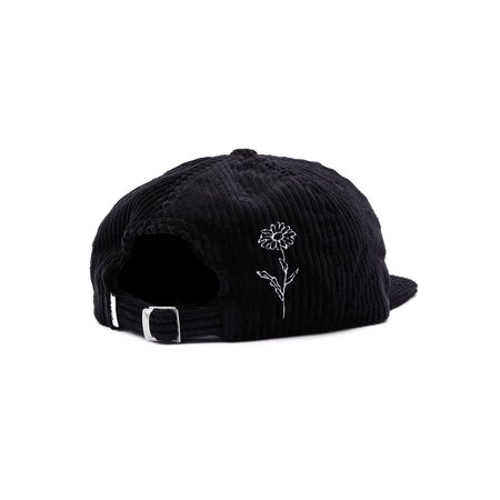 Obey The Cure 6 Panel Cap - Black