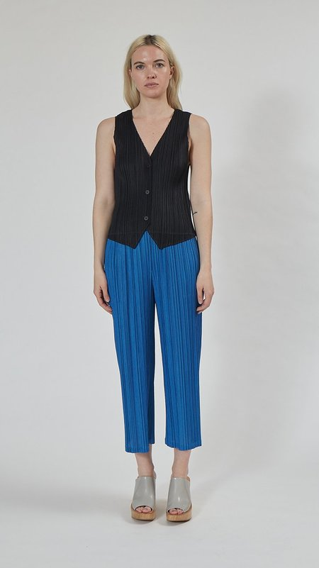 Issey Miyake Pleats Please Monthly Colors Vest - Black