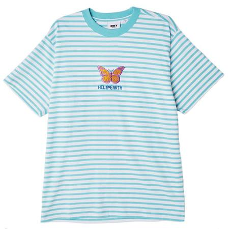 Obey Fisher Tee - Tranquility Blue