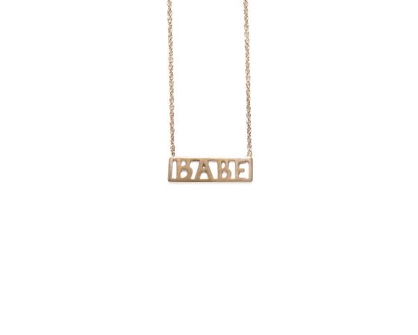 Winden Babe Necklace RG