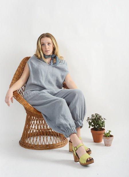 Meg Elastic Jumpsuit - Dove