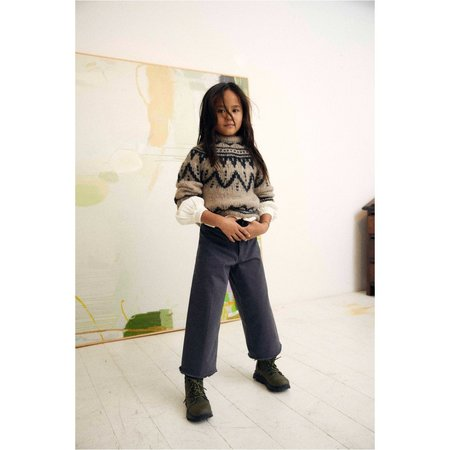 kids the new society lenny sweater - natural
