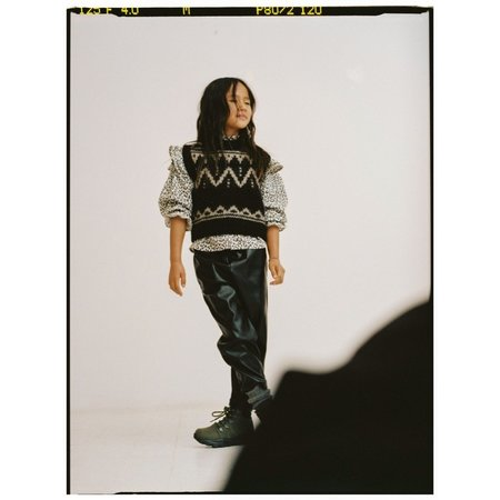 kids the new society lenny vest - black