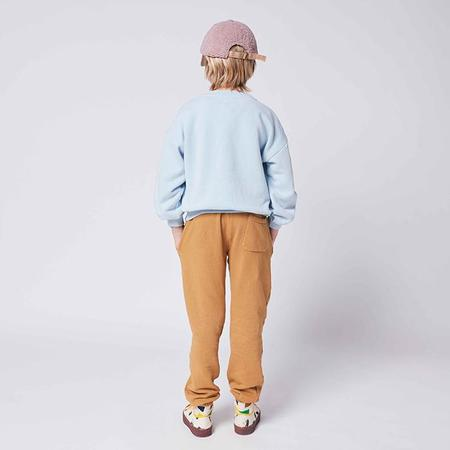 kids Bobo Choses Child Faces Knees Print Sweatpants - Brown