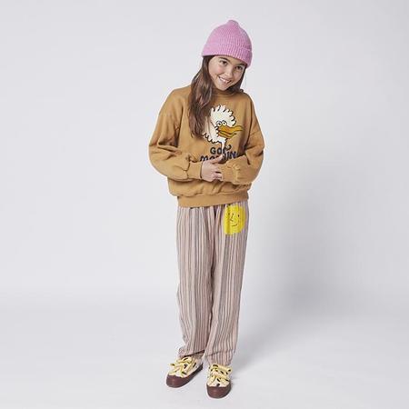 kids Bobo Choses Child Birdie Print Sweatshirt - Brown