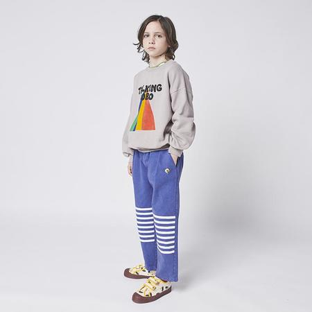 Kids Bobo Choses Child  With Talking Bobo Sweatshirt - Rainbow Print Grey
