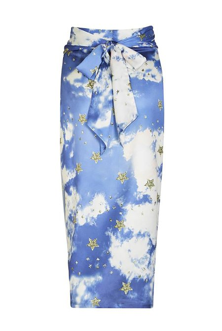 NEVER FULLY DRESSED Dreams Jaspre Skirt - Blue