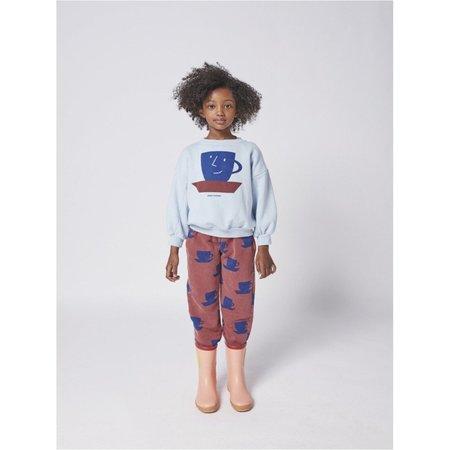 kids bobo choses cup of tea sweatshirt - blue
