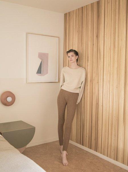 Atelier Delphine Beatrice Sweatshirt - Aged Paper