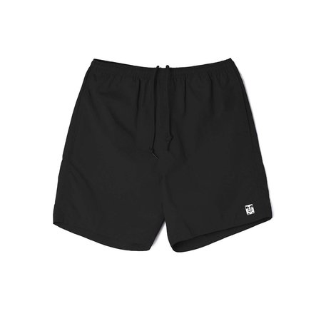 Obey Easy Relaxed Beach Short - Black