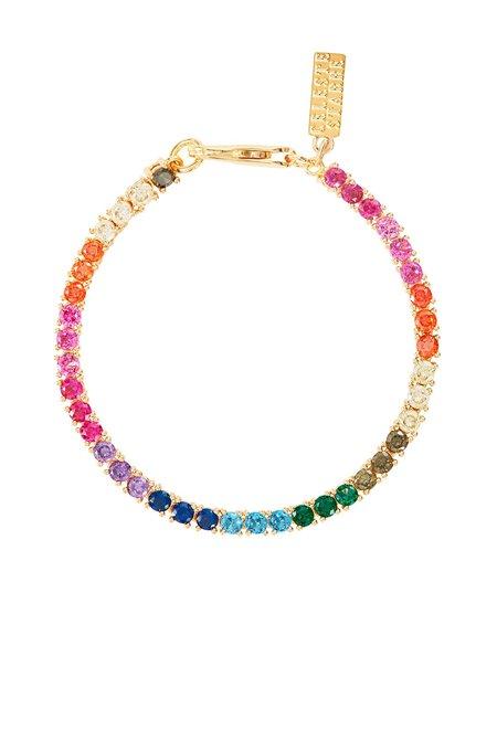 Celeste Starre Rainbow Dreams Bracelet - 18k gold plated