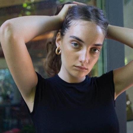 Sophie Monet Midi Hoops - Pine