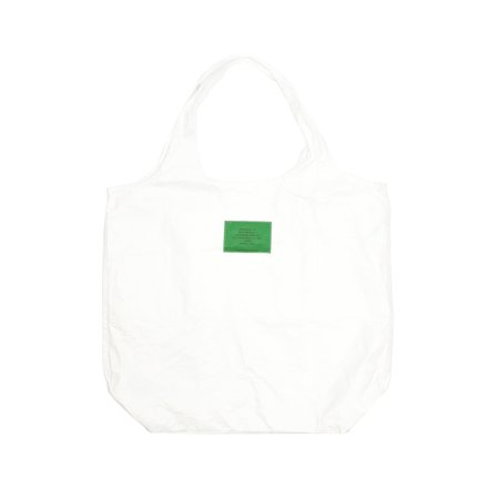 n-hoolywood TEST PRODUCT EXCHANGE SERVICE LARGE REUSABLE BAG - WHITE