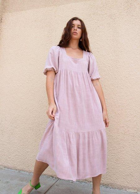 Rachel Pally Linen Mae Dress - Fawn