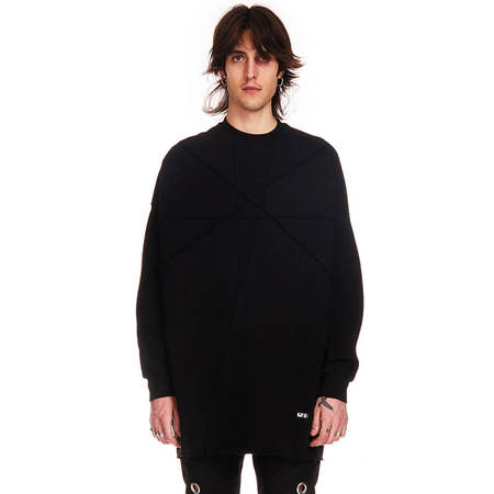 RICK OWENS DRKSHDW Crater Tunic Sweatshirt