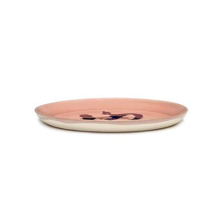 Serax Ottolenghi Feast Medium Pepper Plate - Pink/Blue