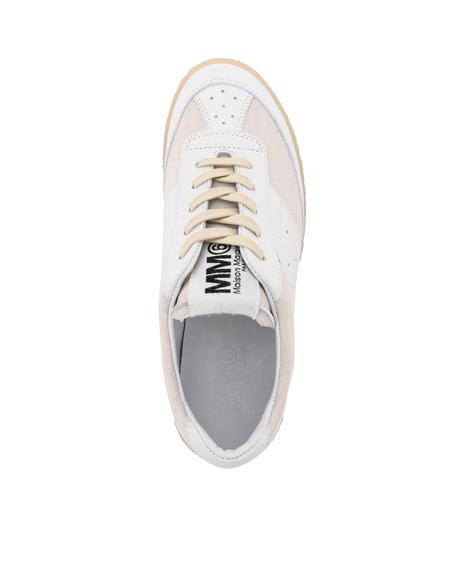MM6 Maison Margiela Sports leather Shoe - beige