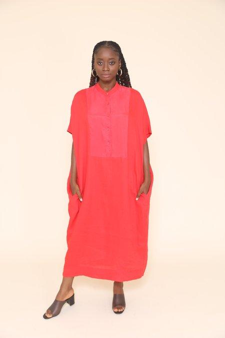 """INTENTIONALLY __________."" Iiram Dress - Red"