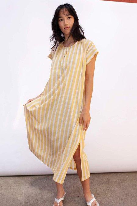 Seek Collective Dee Caftan dress - Sun Stripe