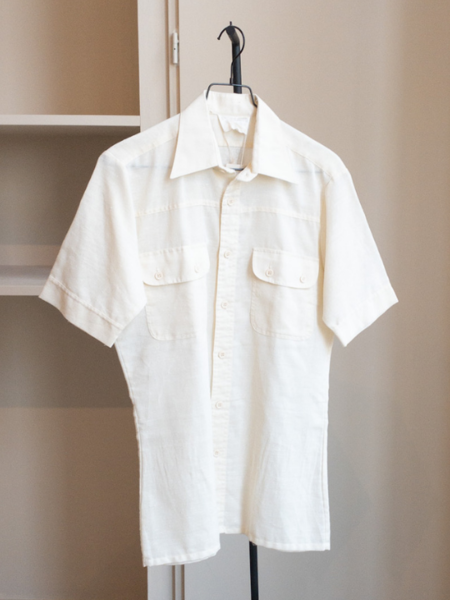 Vintage pockets shirt - Off-white