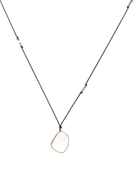 Margaret Solow XL Rose Quartz Necklace