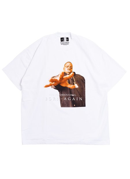WACKO MARIA GUILTY PARTIES The Notorious B.I.G S/S T-Shirt - White