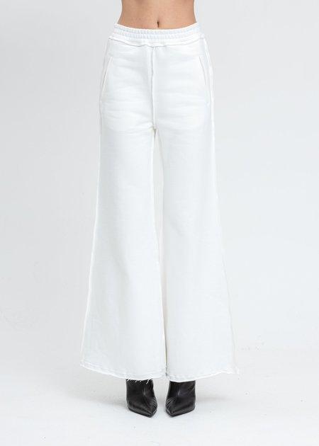 Danielle Guizio Oversized Sweatpants - White