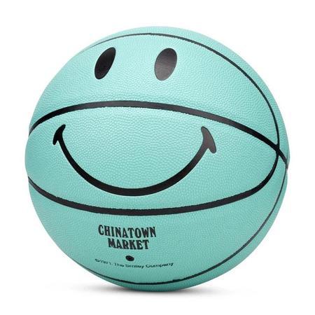 Chinatown Market Smiley Breakfast Basketball - Teal Blue
