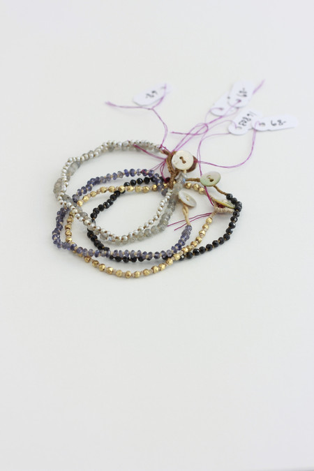 Lena Skadegard Knotted bracelet button closure
