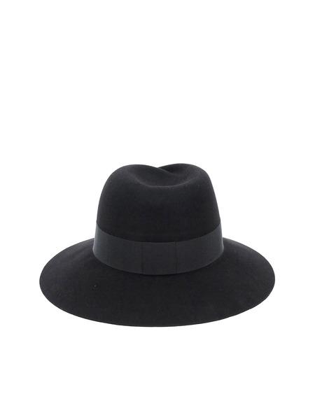 Maison Michel Virginie Felt Hat - Black