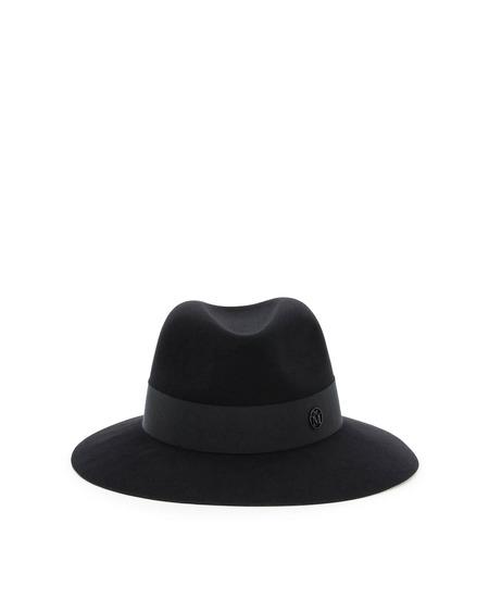 Maison Michel Henrietta Felt Hat - Black