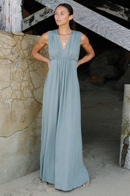 Rachel Pally Long Sleeveless Caftan Dress - Agave