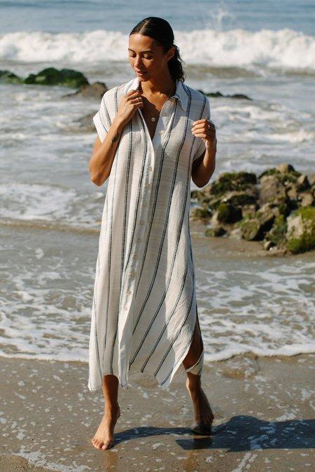 Rachel Pally Rayon Stella Dress - Athens Stripe