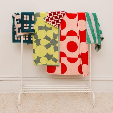 Dusen Dusen Set of Pattern Towels