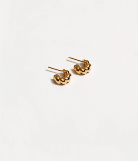 Wolf Circus Small Sadie Hoops - Gold