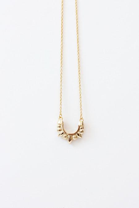 Pamela Love Mini Tribal Spike Necklace