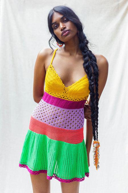 Abacaxi Samba Dress