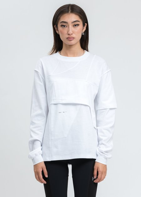 Heliot Emil Deconstructed Shirt - White