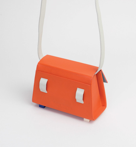 MATTER MATTERS Mini Trapezoid belt bag - Orange