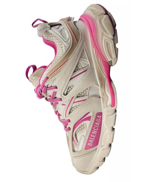 Balenciaga Track Sneaker - White/Pink