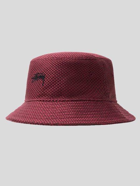 Stussy Jute Weave Bucket Hat