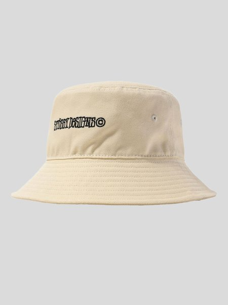 Stussy Wide Brim Bucket Hat - Natural
