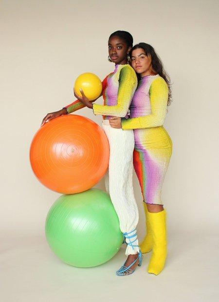 Tyler McGillivary Lucia Dress - Rainbow Gradient