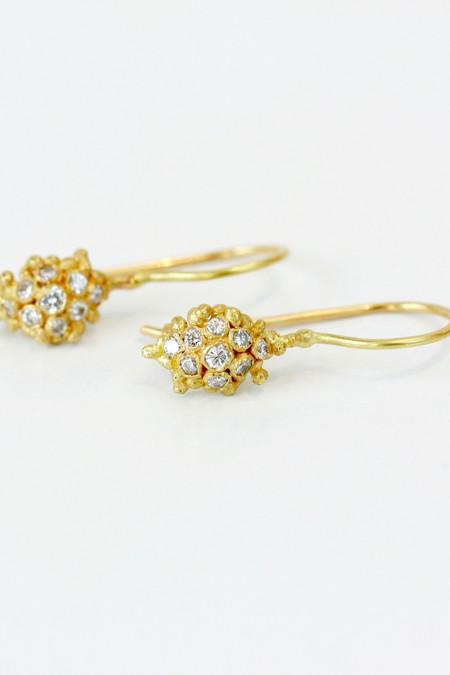 Ruth Tomlinson Drop Cluster Earrings