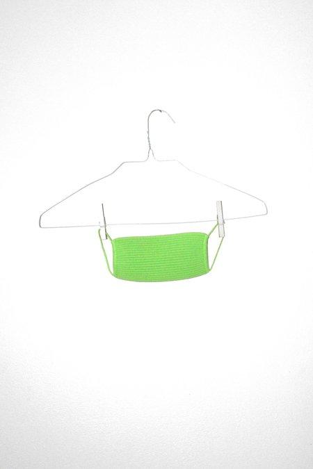 giu giu Nonna Surgical Mask - Celery
