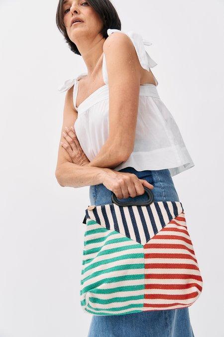[Pre-loved] Wiggy Kit Cotton Tie-Strap Shirt - White