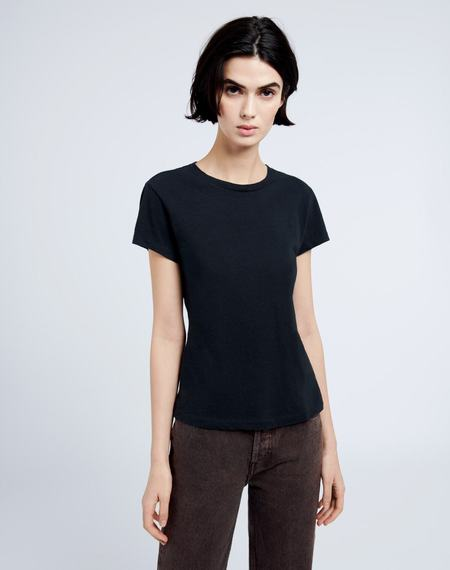 RE/DONE 1960s Slim Tee - Washed Black