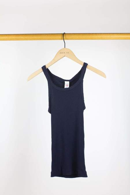 RE/DONE Ribbed Tank - Navy